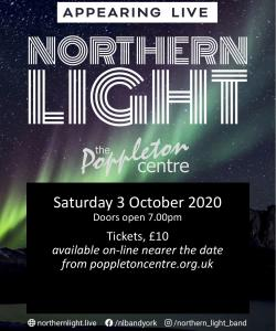 Northern Light - Rescheduled 3rd Oct