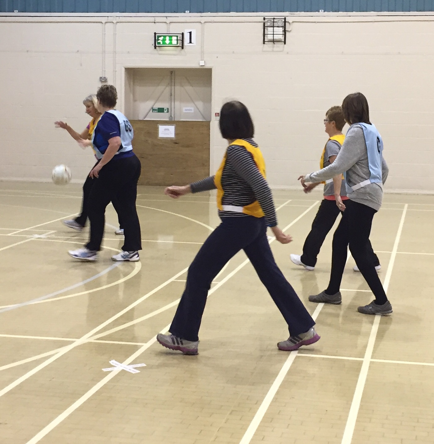 walking netball on a wednesday from 1st feb 2017